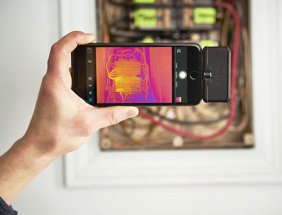 Flir Thermal Camera with Certified Home Inspector Doug Horne